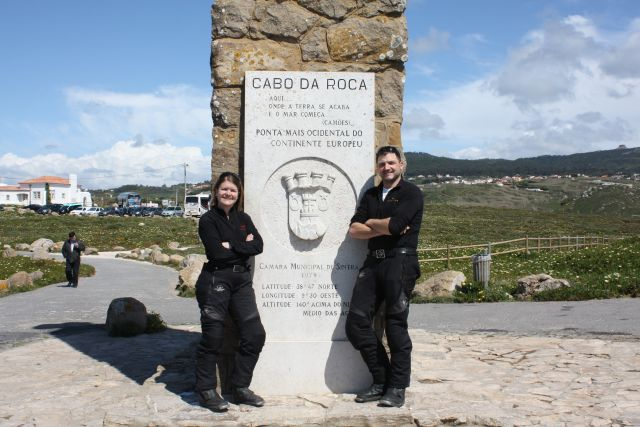 Cabo da Roca am Atlantik in Portugal