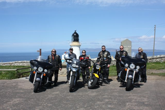die Truppe in Dunnet Head