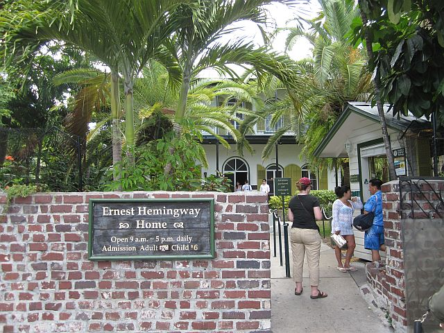 Hemingways Haus in Key West