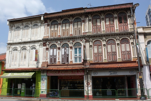Häuser in Little India